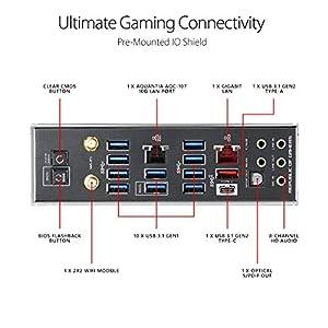 ASUS ROG Rampage VI Extreme Omega X299-II Gaming Motherboard LGA2066 (Intel 9th Gen X-Series) EATX DDR4 M.2 U.2 10G LAN…