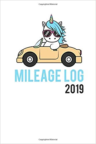 mileage log 2019 track your car mileage automobile log book for