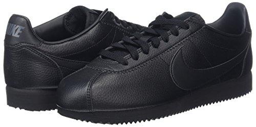 Nike Classic Cortez noir De Noir Chaussures Gymnastique Leather Anthracite Hommes Pour rPrxSBf