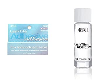 a5debefee53 Ardell Lashtite Glue Adhesive For Individual Lashes (Clear) 3.5G (.125Oz)  by Ardell: Amazon.co.uk: Beauty