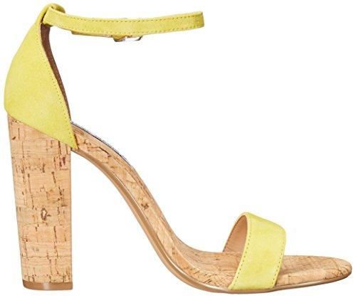 Womens Carson Yellow Steve Dress C Suede Madden Sandal SRwq5