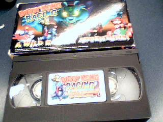 do Diddy Kong Racing A Wild Racing Adventure Cartoon VHS Tape (N64 Version) ()