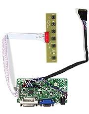 DVI + VGA Controller Board Kit LCD-driver board voor LP173WD1 B173RW01 1600x900 40pins LCD-scherm