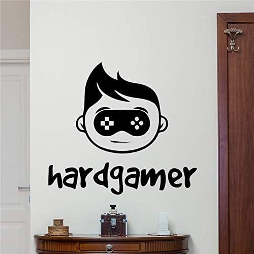 Hard Gamer Tatuajes de pared Gaming Joystick Gamepad Decoración ...
