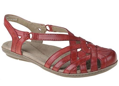 Earth Origins Women's, Belle Brielle Slip on Shoes RED 9.5 W