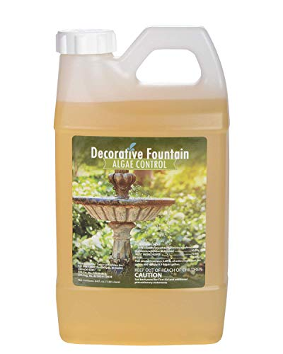 (Fountain Algaecide and Clarifier, Formulated for Small Ponds, Water Features, 64oz)