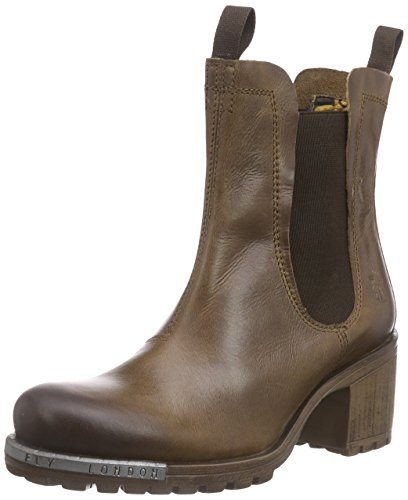Fly London Womens Luz Boot Cammel Rug