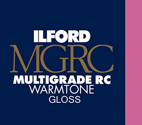 Ilford MGRC Warmtone Glossy - 8inx10in 100 Sheets by Ilford