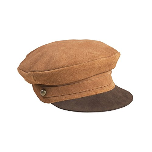Lack of Color Women's Lola newsboy Cap Brown MD (57cm) by Lack of Color