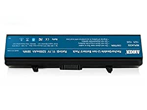Dell Inspiron 1525 Battery, Anker Laptop Replacement Battery Pack [Li-ion 5200mAh/58WH] for Dell Inspiron 1440, 1525, 1526, 1750