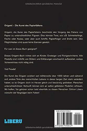 Das Origami Buch 25 Faltmodelle Für Kinder Einsteiger Und