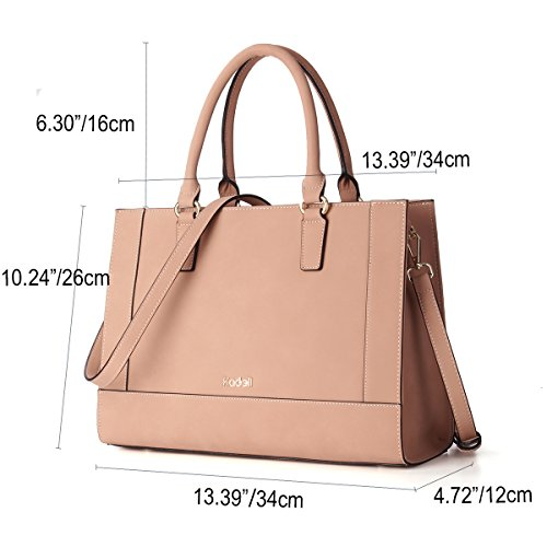 Kadell Pu Leather Large Tote Shoulder Handbags handle Top Messenger Satchel Beige Bags Women Fashion 4rqnw4XxHS