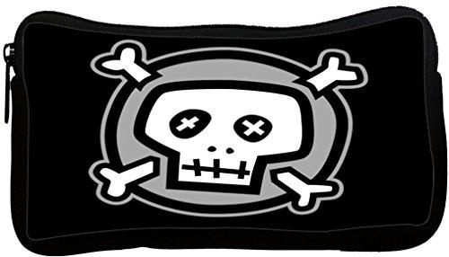 Rikki Knight Cartoon Skull and Bones Design Neoprene Penc...