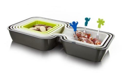 Vacu vin party juego de utensilios de cocina for Juego utensilios cocina
