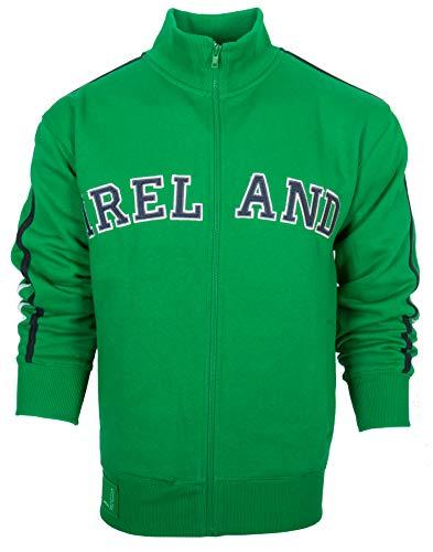 Adult HQ Ireland Retro Jacket Kelly Green (X-Large)