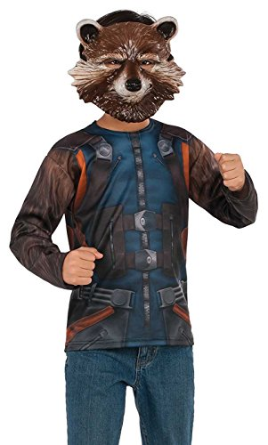 Rubies Guardians Of The Galaxy Vol. 2 Boys Rocket Raccoon Costume Top