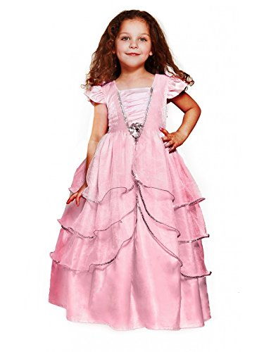 Fairies Galore Girl's Crystal Pink Princess Costume -Large (Pink Velvet Princess Costume)