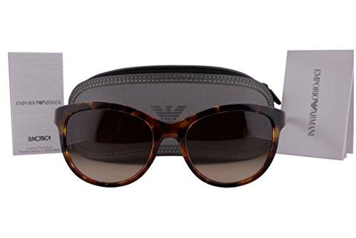 Emporio Armani Sunglasses Model (Emporio Armani EA4076 Sunglasses Havana Spot Red w/Brown Gradient Lens 554113 EA 4076 For)