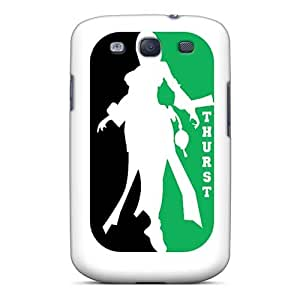 Shock Absorption Cell-phone Hard Covers For Samsung Galaxy S3 With Custom High-definition Green Day Image AnnaDubois