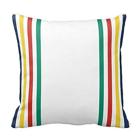 Amazon.com: Bahía de Hudson Funda de almohada: Home & Kitchen