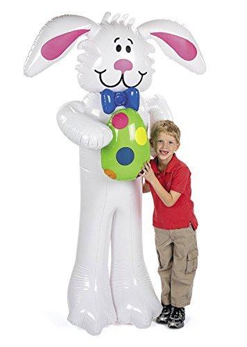 Jumbo Inflatable Easter Bunny - 68 high [並行輸入品]   B0716VCWSV