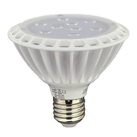 LEDwholesalers Short Neck PAR30 11 Watt 120° Beam Angle Dimmable LED Bulb, 1338