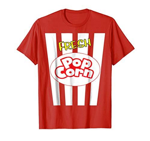 Fresh Popcorn Bucket Halloween Costume Shirt