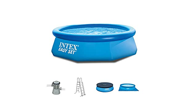 Intex 244 x 76 cm Easy Pool 281121 Juego completo incl. Bomba de ...