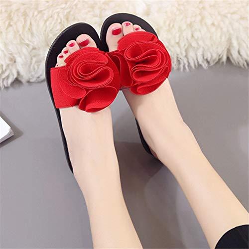 Femme Sandales YUCH Red Confortables Et Chaussons HnBBxw5p7q