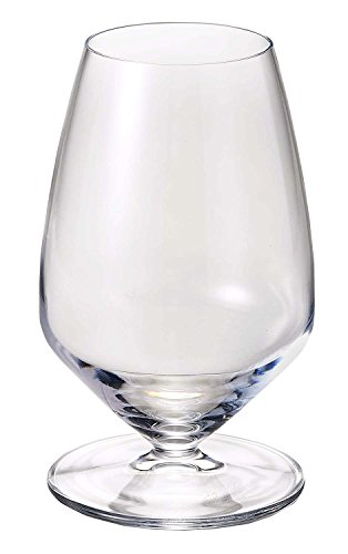 Luigi Bormioli 11919/01 T 11.75 oz Sauvignon Stemless White Wine Glasses, Set of 4, Clear