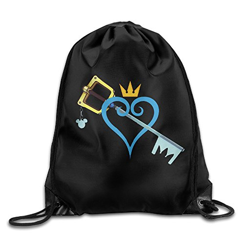 Price comparison product image Kingdom Hearts Sword Sport Backpack Drawstring Print Bag