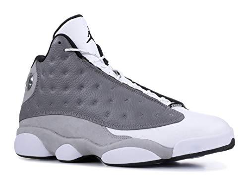 Jordan Nike Men's Air 13 Retro 'Atmosphere Grey' 414571-016 (Size: 8.5) (Air Jordan 13 Xiii Retro Wheats White Wheat)