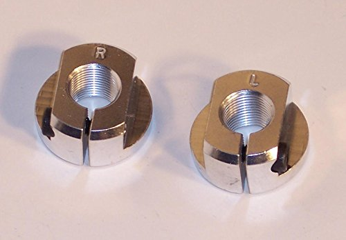 BILLET SPINDLE NUTS, Fits King Pin & Combo Spindles, Pair, Dunebuggy & VW