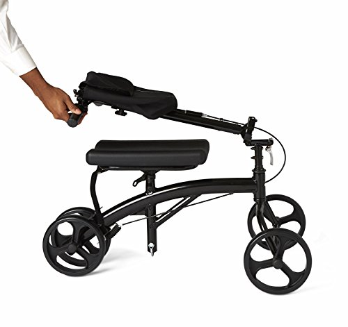 Healthcare Direct 100KW Steering Knee Walker with Hand Brakes, Basket Adjustable Height by Healthcare Direct (Image #4)