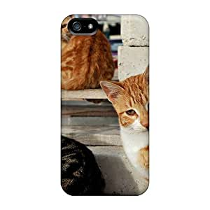 For Iphone 5/5s Protector Case 3 Street Cats Who Need A Home Phone Cover