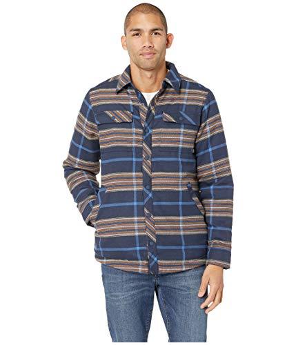 Outdoor Research Men's Kalaloch Reversible Shirt Jacket Naval Blue Plaid Large