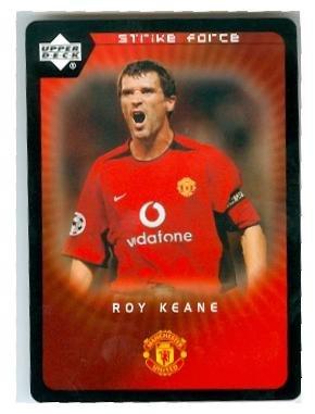233863af4 Roy Keane trading card (Manchester United FC Soccer Ireland) 2003 Upper  Deck Strike Force