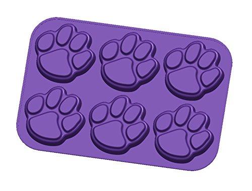 NCAA LSU Tigers Muffin/Cupcake Pan, One Size, Purple