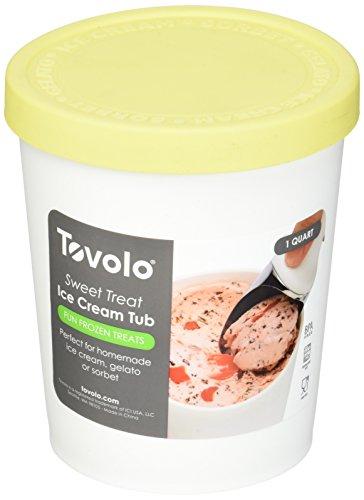 Tovolo Sweet Treats Tub Lemon