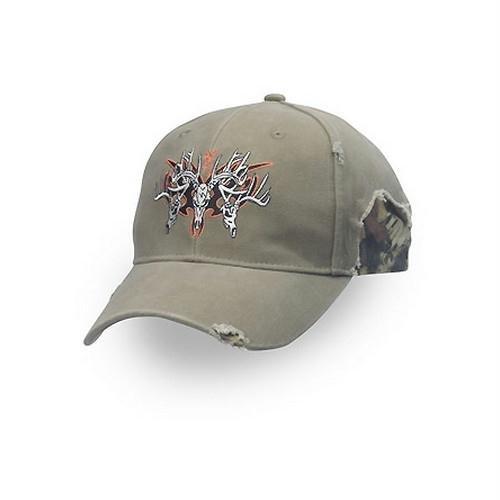 Browning Rugged Bucks Hat, Khaki/Mossy Oak Infinity, Semi-Fitted