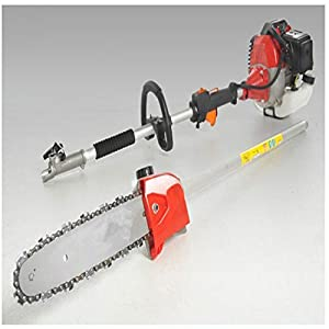 CHIKURA 52cc Long Reach Pole Chainsaw telescopic pole Brush Tree Cutter Pruner
