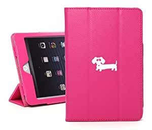 Apple iPad Mini Hot Pink Faux Leather Magnetic Smart