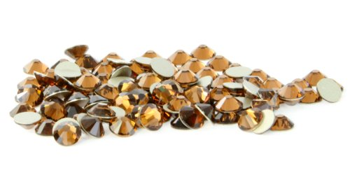 SS20 Swarovski Rhinestones - Smoked Topaz (1 Gross = 144 pieces) -