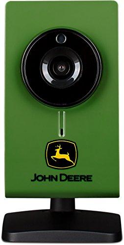 John Deere Wireless Indoor HD Security Camera | Surveillance Monitor w/ Motion Detection, Night Vision, & 2-Way Audio