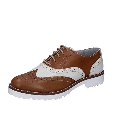 Sint RUBINI Cordones de OLGA de Zapatos Piel vaxxfYn
