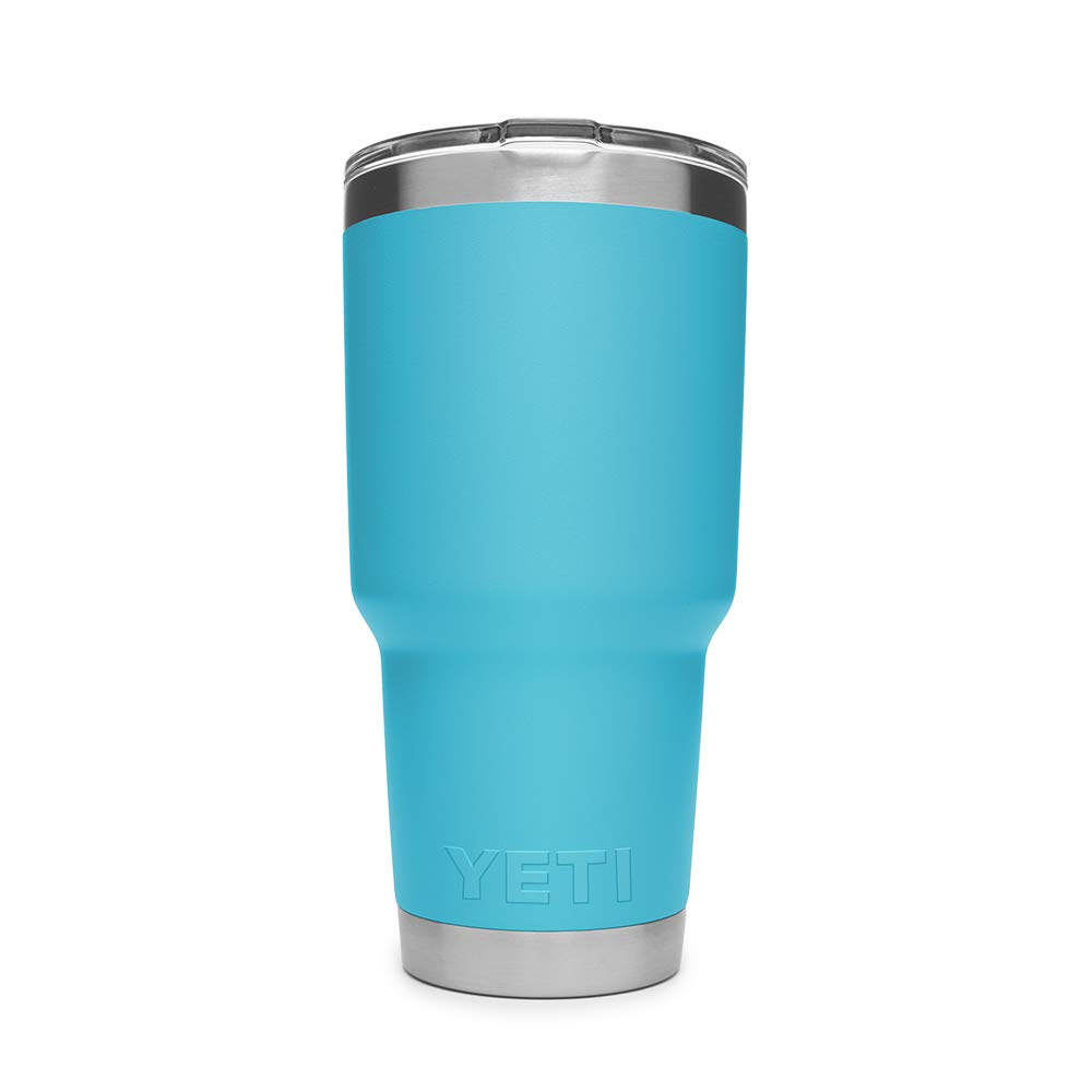 YETI Rambler 30 oz Stainless Steel Vacuum Insulated Tumbler w/MagSlider Lid, Reef Blue by YETI (Image #3)