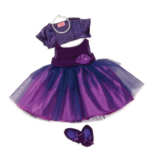 Fancy Party Dress for 18-Inch Dolls - Our Generation Party Whirl Deluxe ()