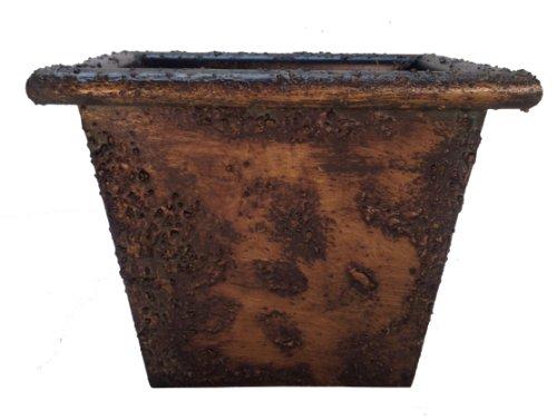 Novelty Rustique Planter, Antique Bronze, 14-Inch