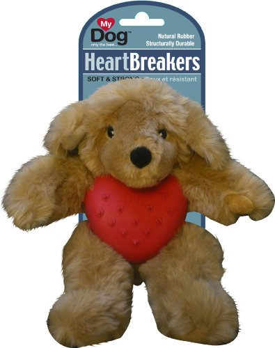 MY DOG Heart Breakers Dog Toy, Small, Golden Retriever, My Pet Supplies