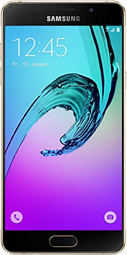Samsung Galaxy A5 (2016) SM-A510F 16GB Gold, Single-Sim, GSM Unlocked International Model, No Warranty
